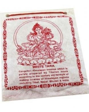 Gangchen | Tibetan Incense Powder | White Tara | 40g | Made in Nepal